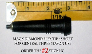 Order #2 StickPic for Black Diamond Short FLEX Tips